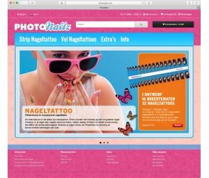 PhotoNailz, aangestuurd door Shop4U