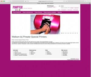 Pimpter, aangestuurd door Shop4U